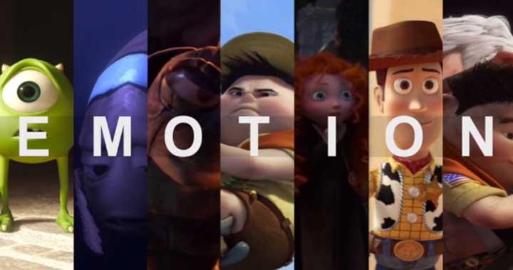 émotions Pixar