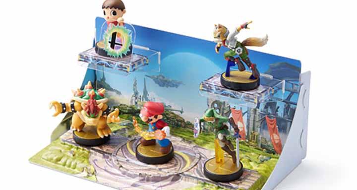 présentoirs décorés Amiibo figurines (2)