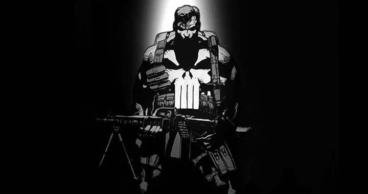 punisher sur netflix daredevil marvel série tv streaming