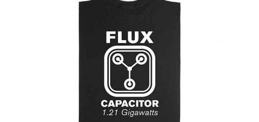 shirt retour vers le futur flux