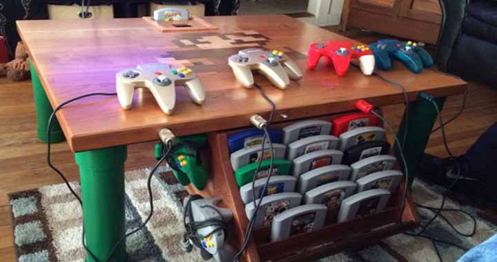 table custom Nintendo 64