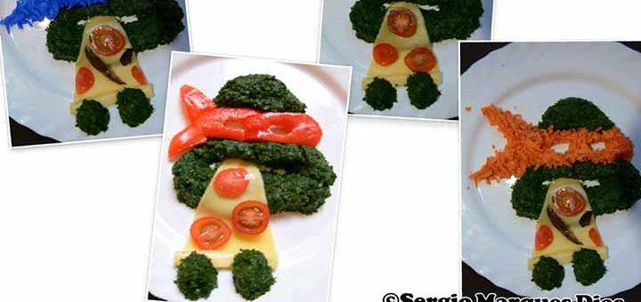 tortues ninja aux légumes