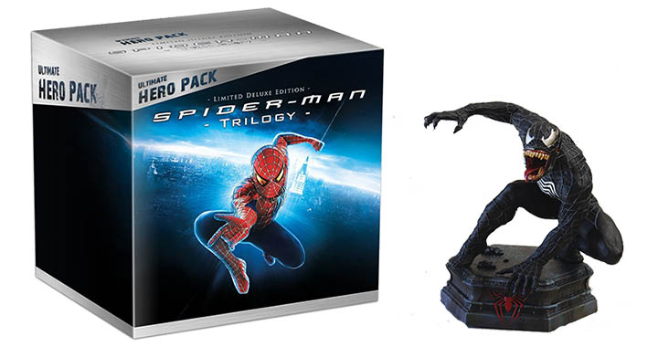 ultimate hero pack bluray figurine sony