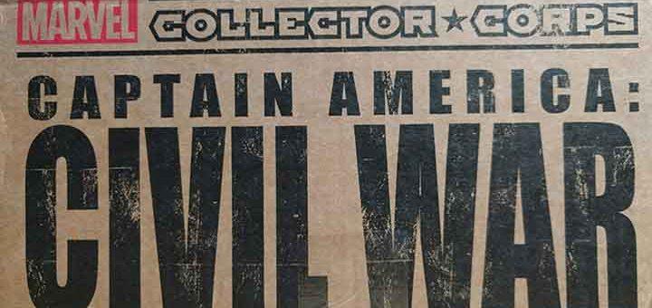 Unboxing Civil War Marvel Collector
