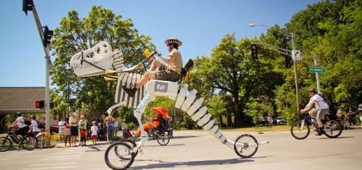 vélo dinosaure t-rex