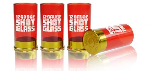 verres à shot cartouches fusil