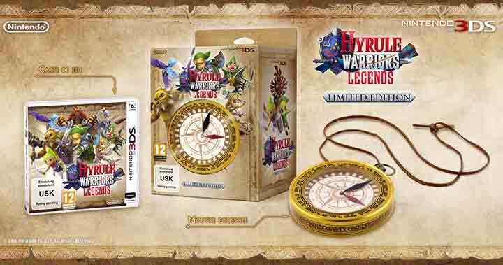 Hyrule Warriors édition limitée